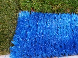 Mavi Çim Halı